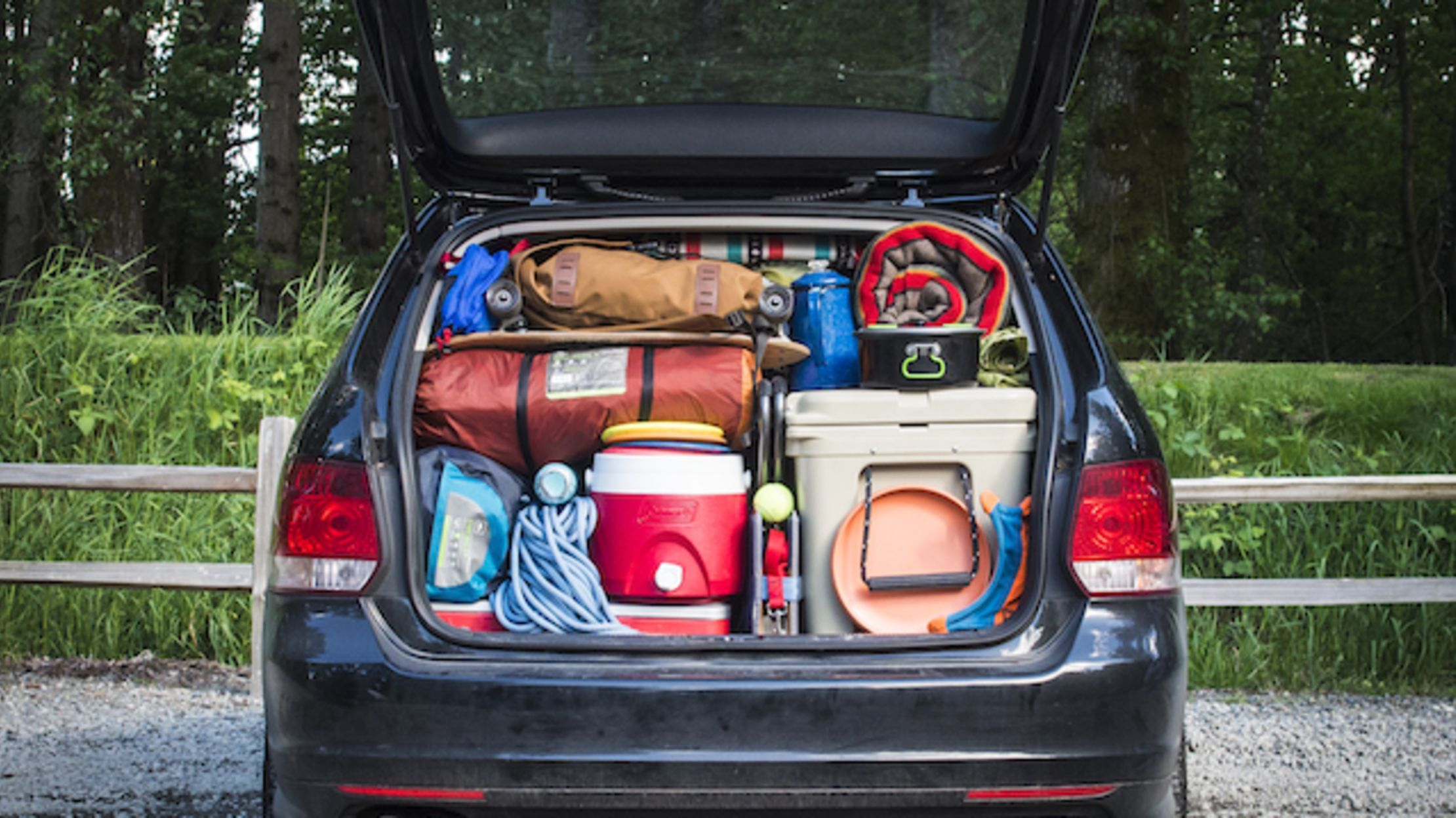 8 tips for packing your car for a camping trip mental floss. Black Bedroom Furniture Sets. Home Design Ideas