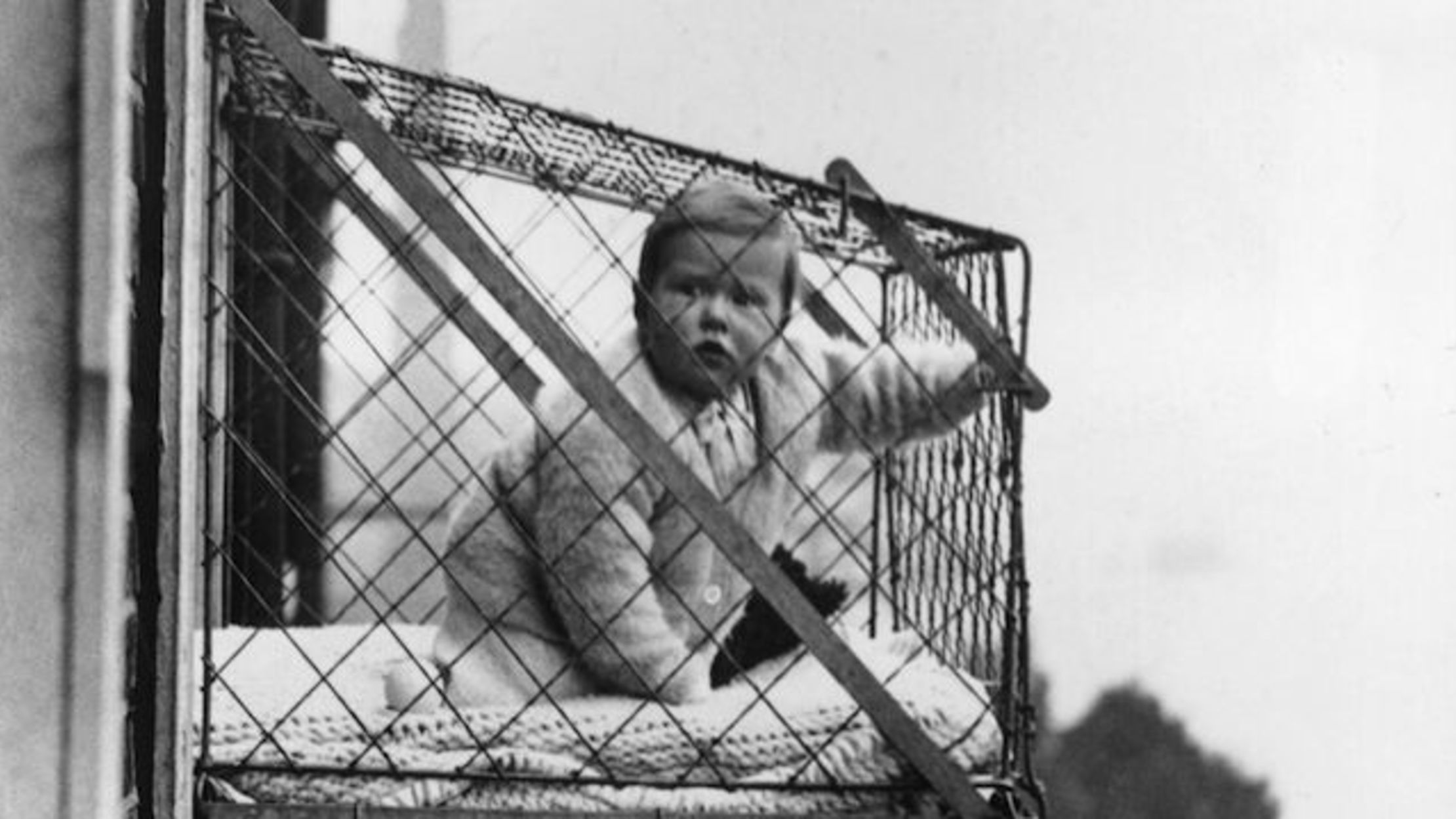 A Brief and Bizarre History of the Baby Cage | Mental Floss