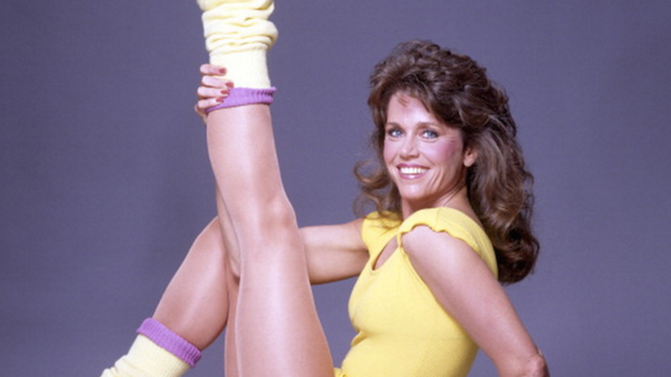80S Workout Porn how 'jane fonda's workout' conquered the world   mental floss