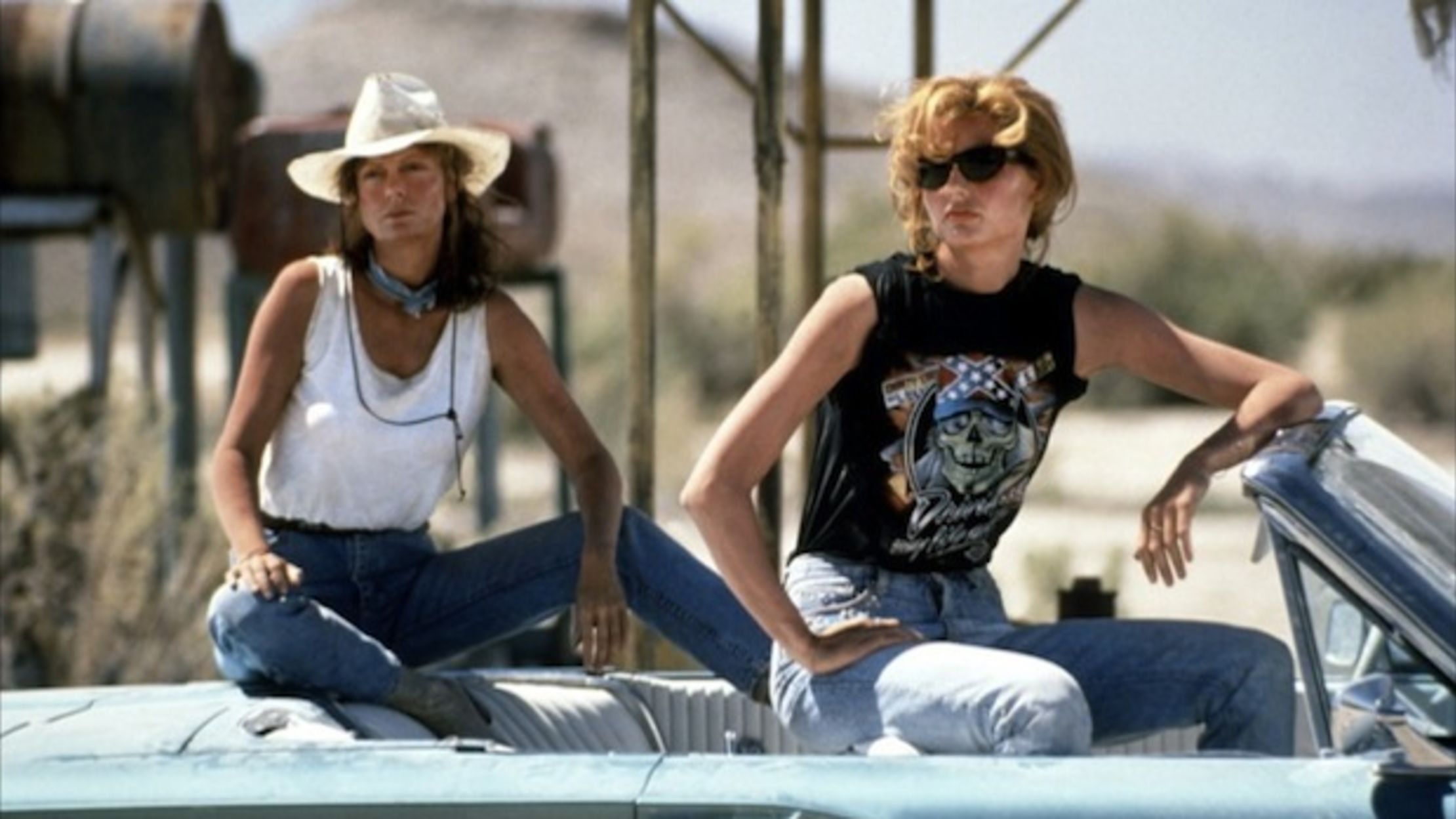 5421607f 15 Things You Might Not Know About 'Thelma & Louise' | Mental Floss