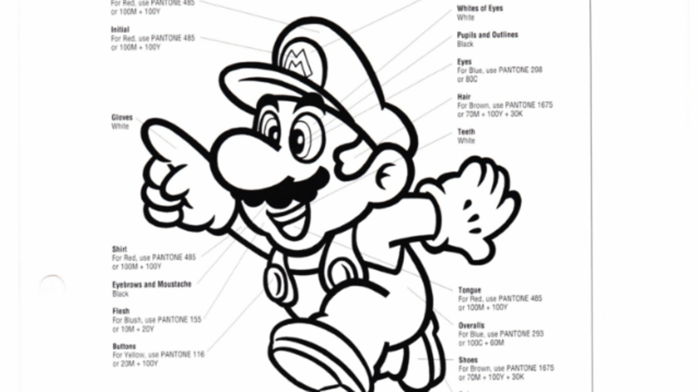 15 Very Specific Mario Facts From a 1993 Nintendo Internal