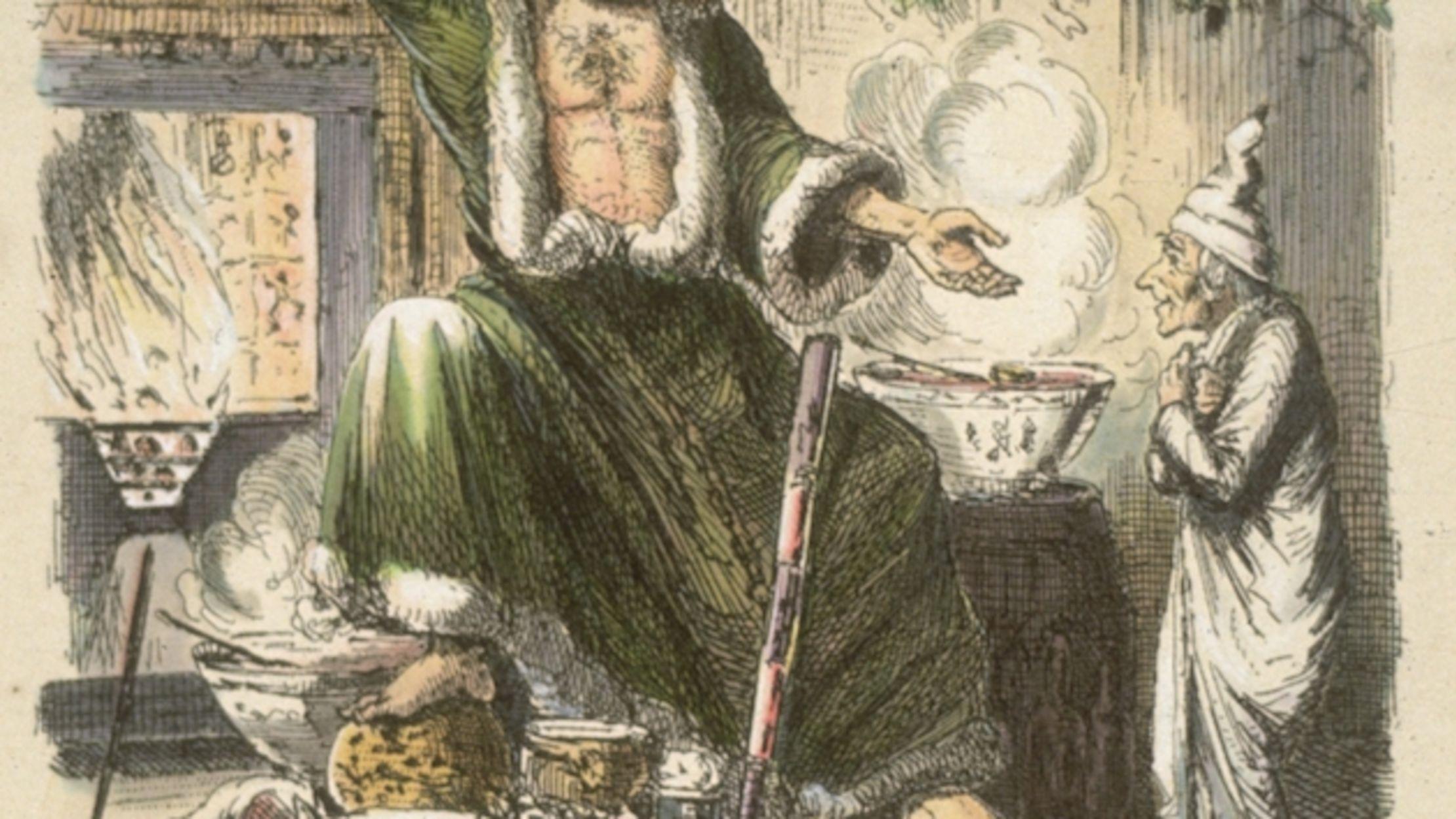 Listen to Neil Gaiman Read Charles Dickens' 'A Christmas Carol' | Mental Floss