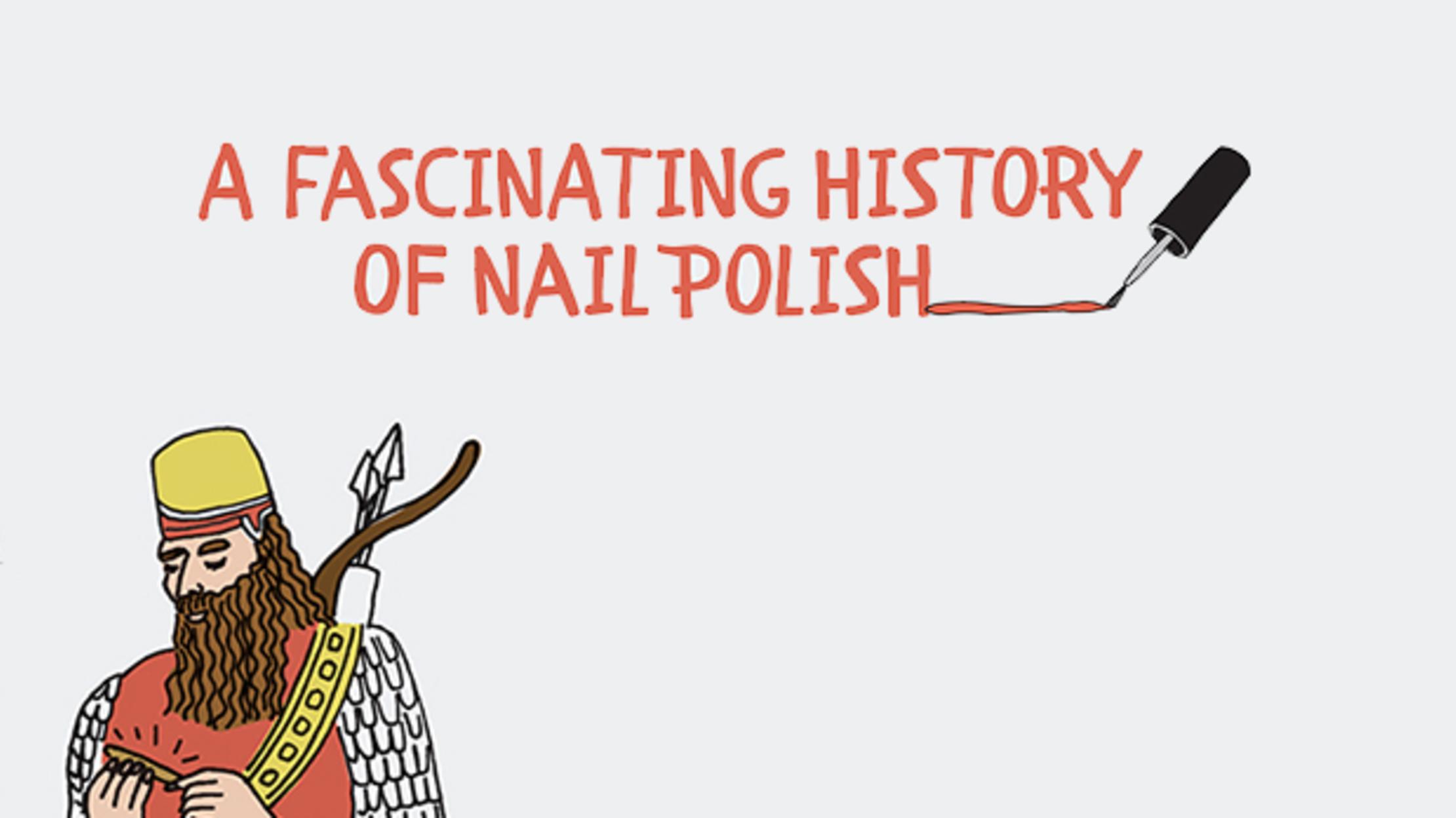 A Fascinating History of Nail Polish | Mental Floss