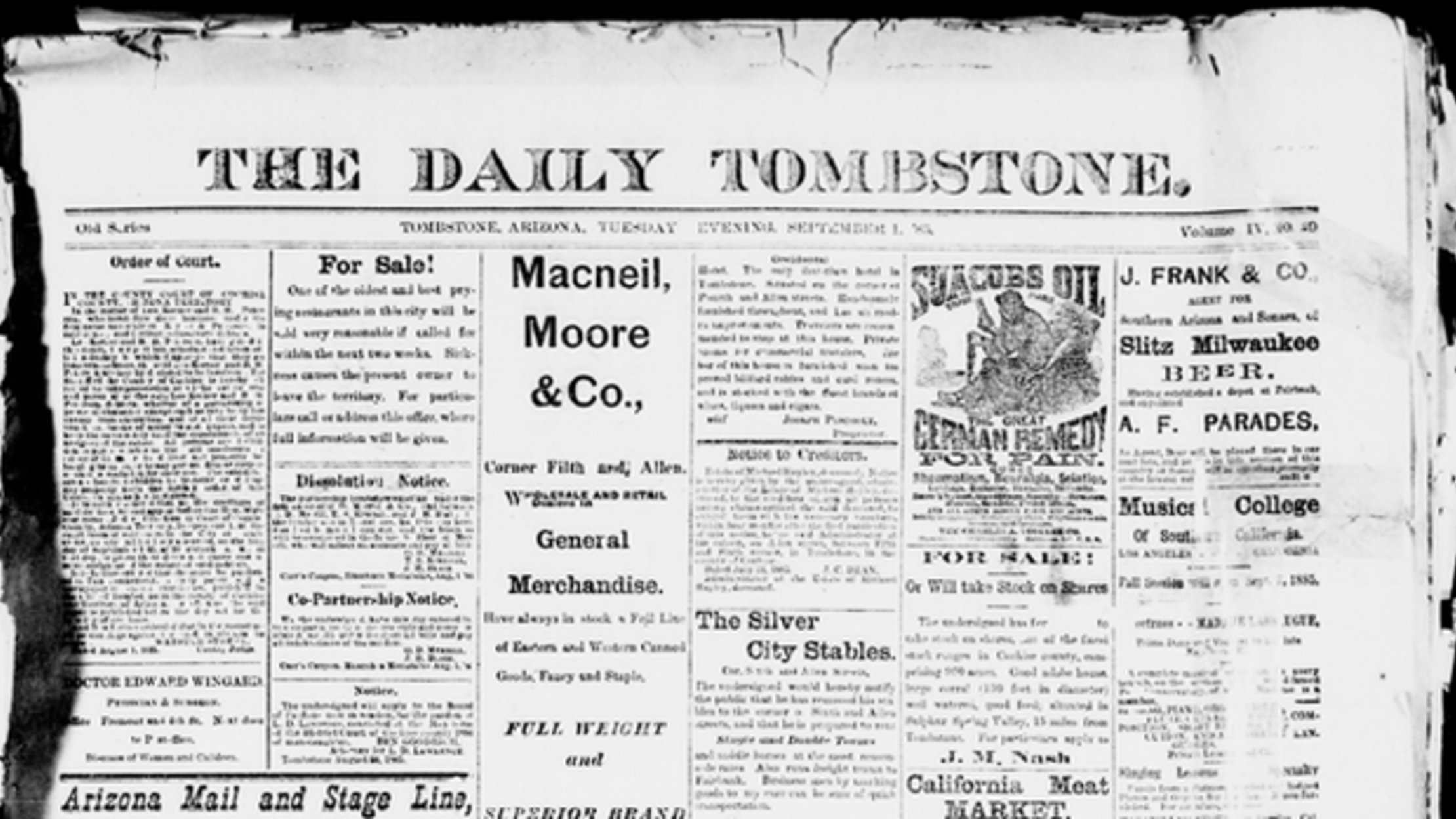 14 Wonderfully Odd American Newspaper Names | Mental Floss