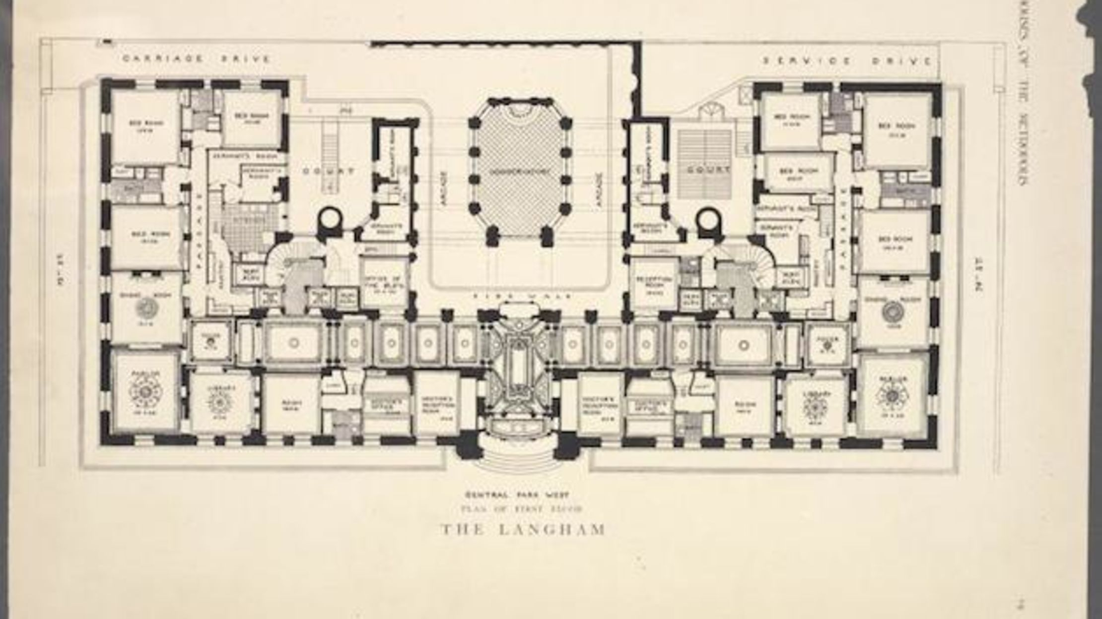 Floor Plans From Pre World War I