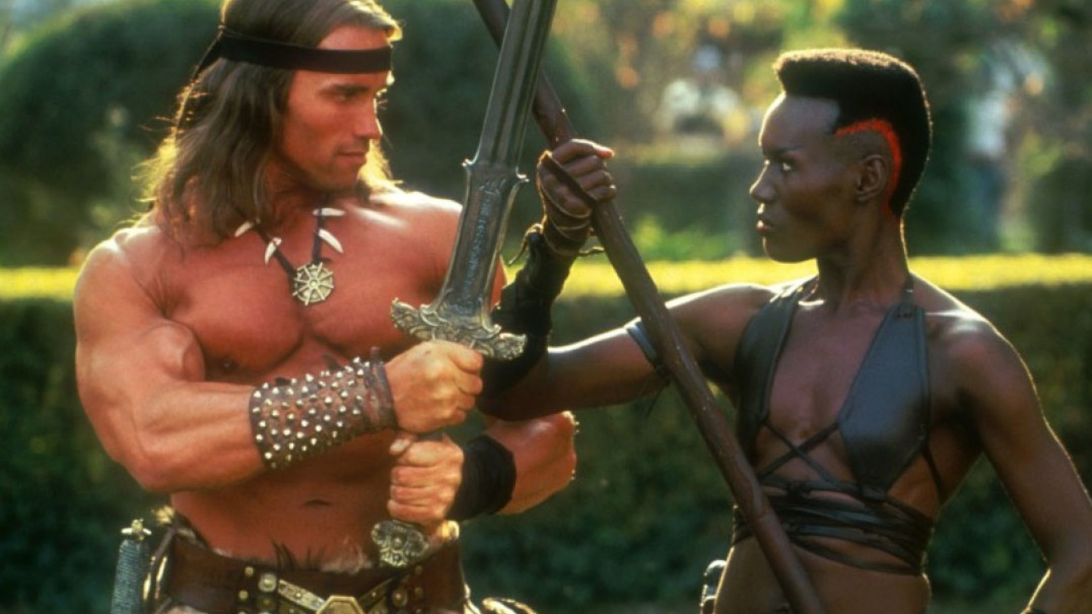 John Jones Auto >> 15 Things You Probably Didn't Know About 'Conan the Destroyer' | Mental Floss