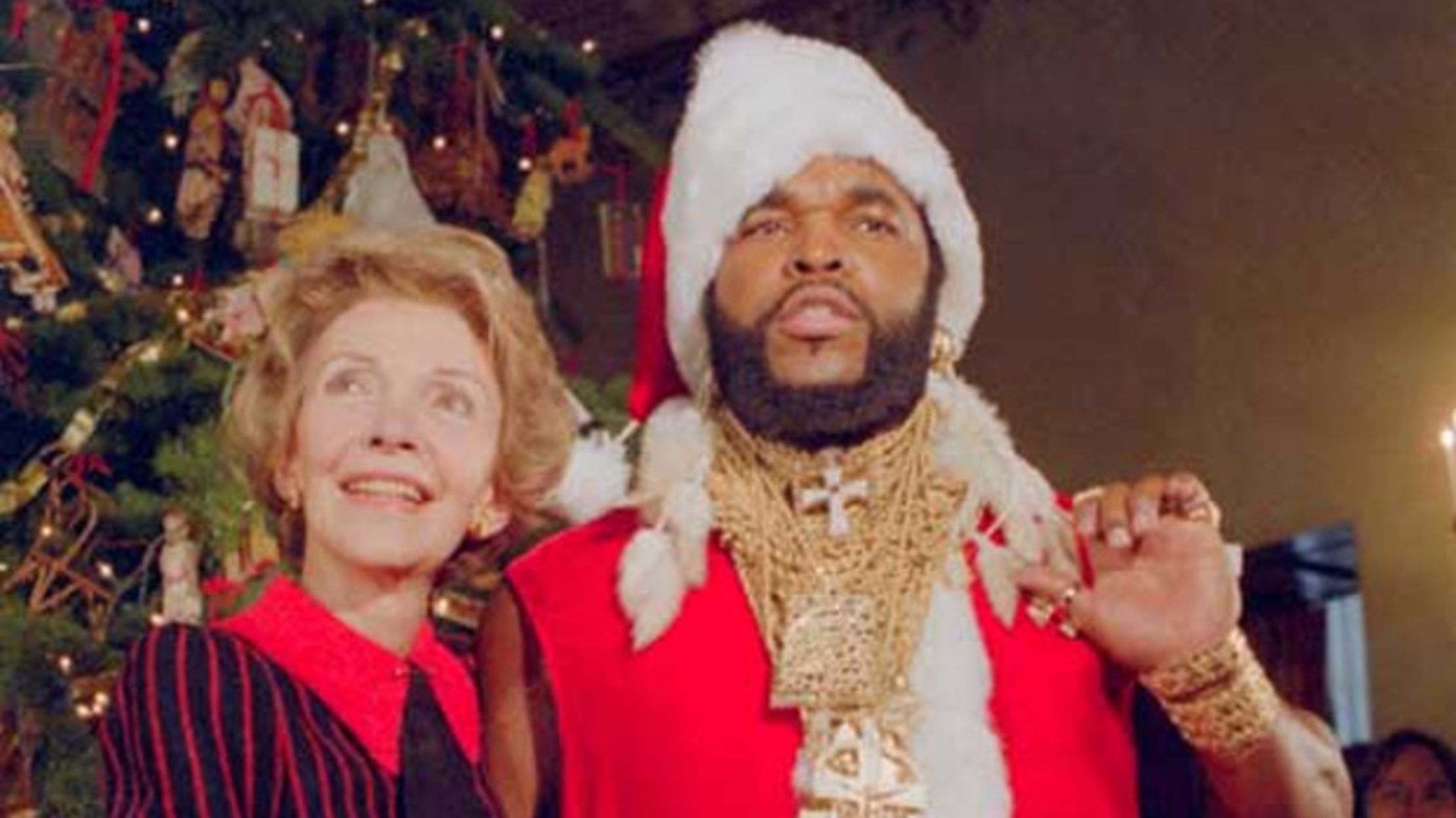 In 1983 The White House Santa Was Mr T Mental Floss