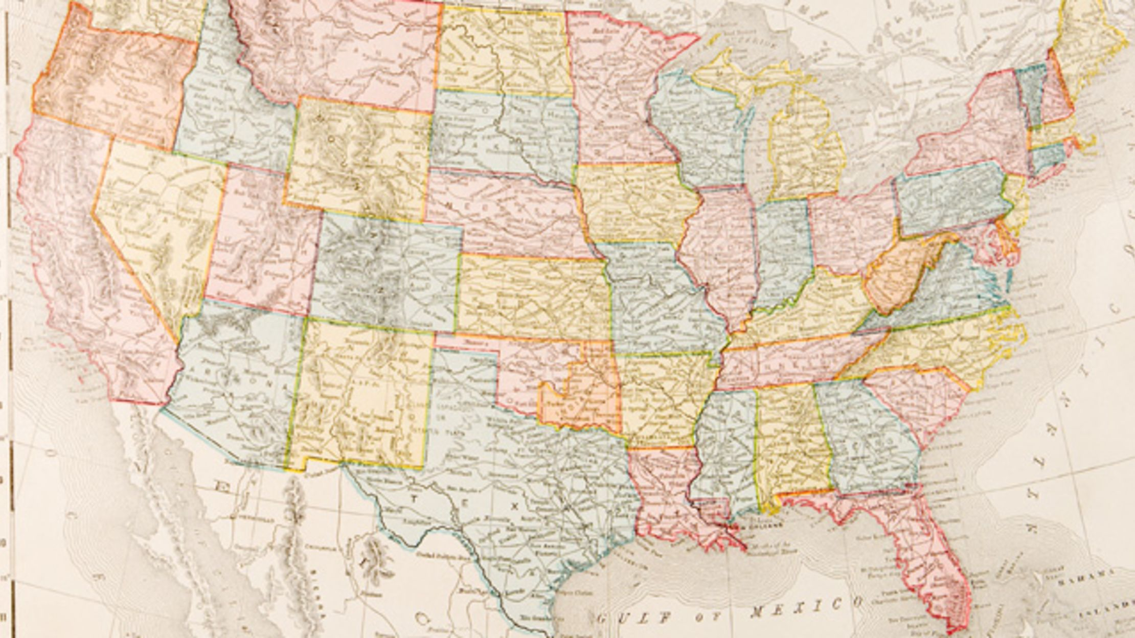 How All 50 States Got Their Names