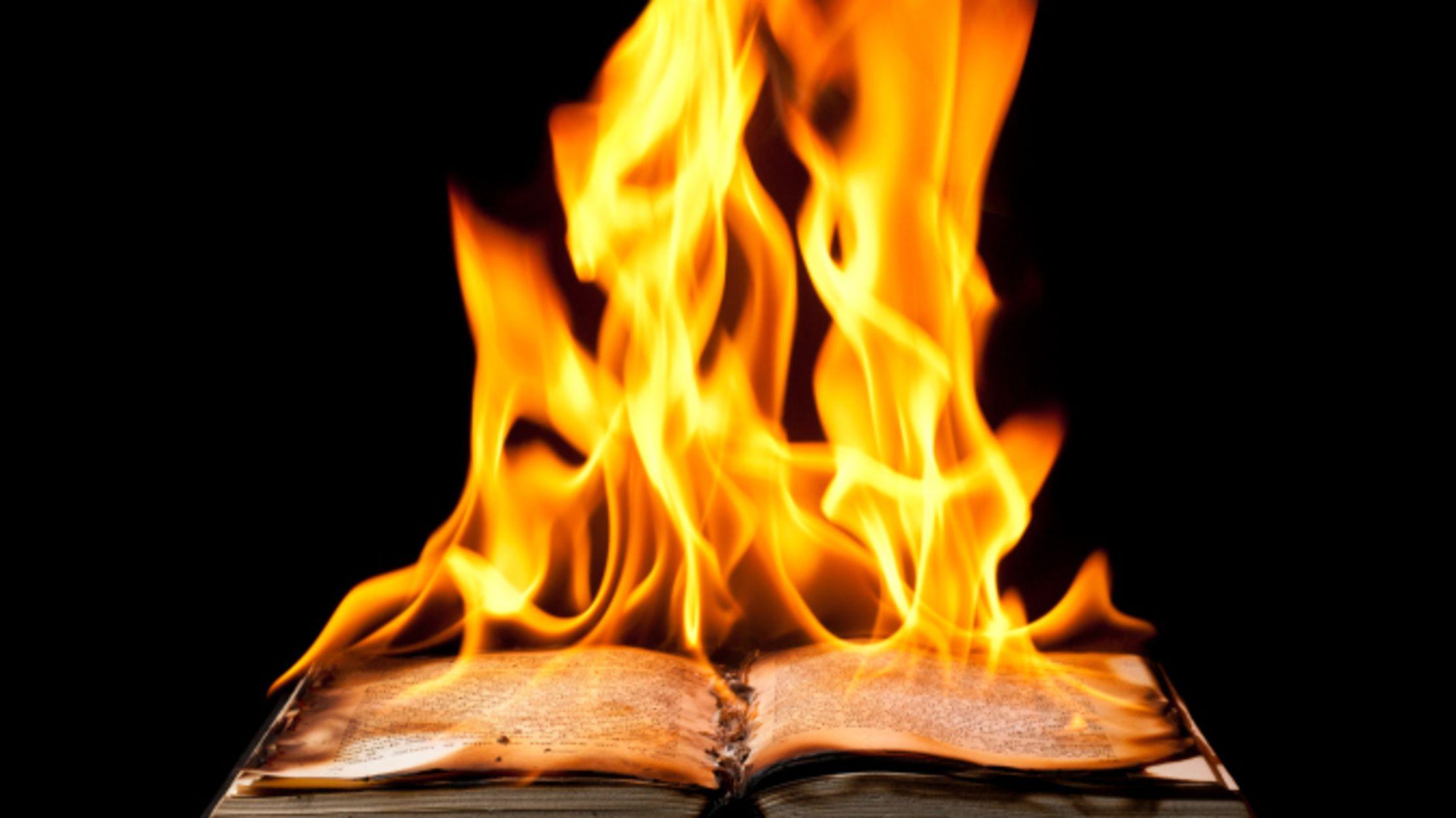 11 Book Burning Stories That Will Break Your Heart | Mental Floss