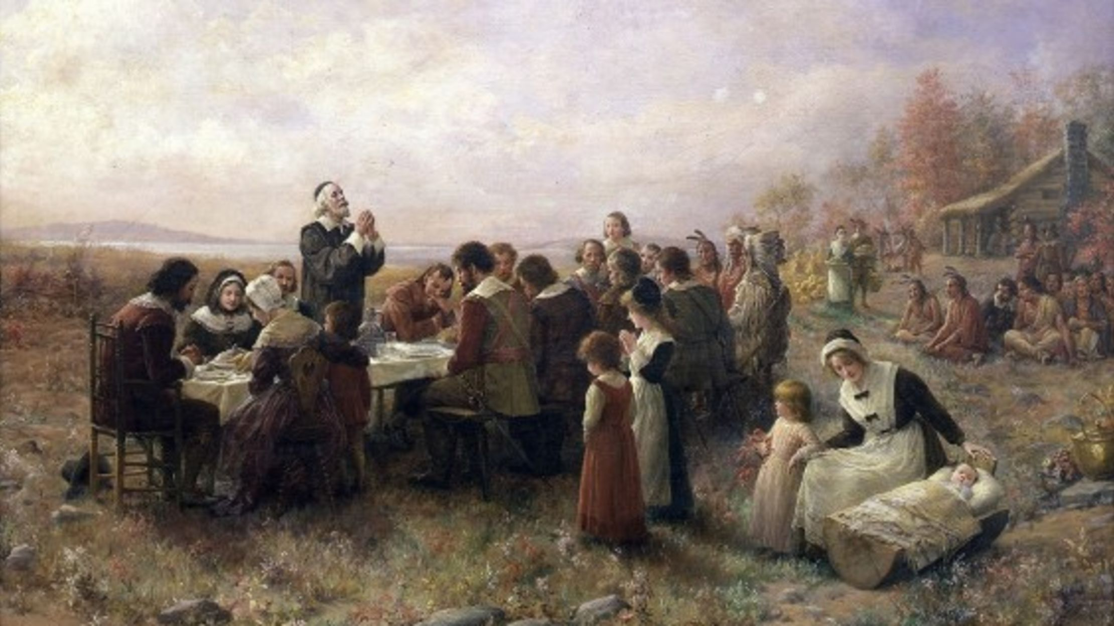 The First Thanksgiving Didn't Actually Take Place in America