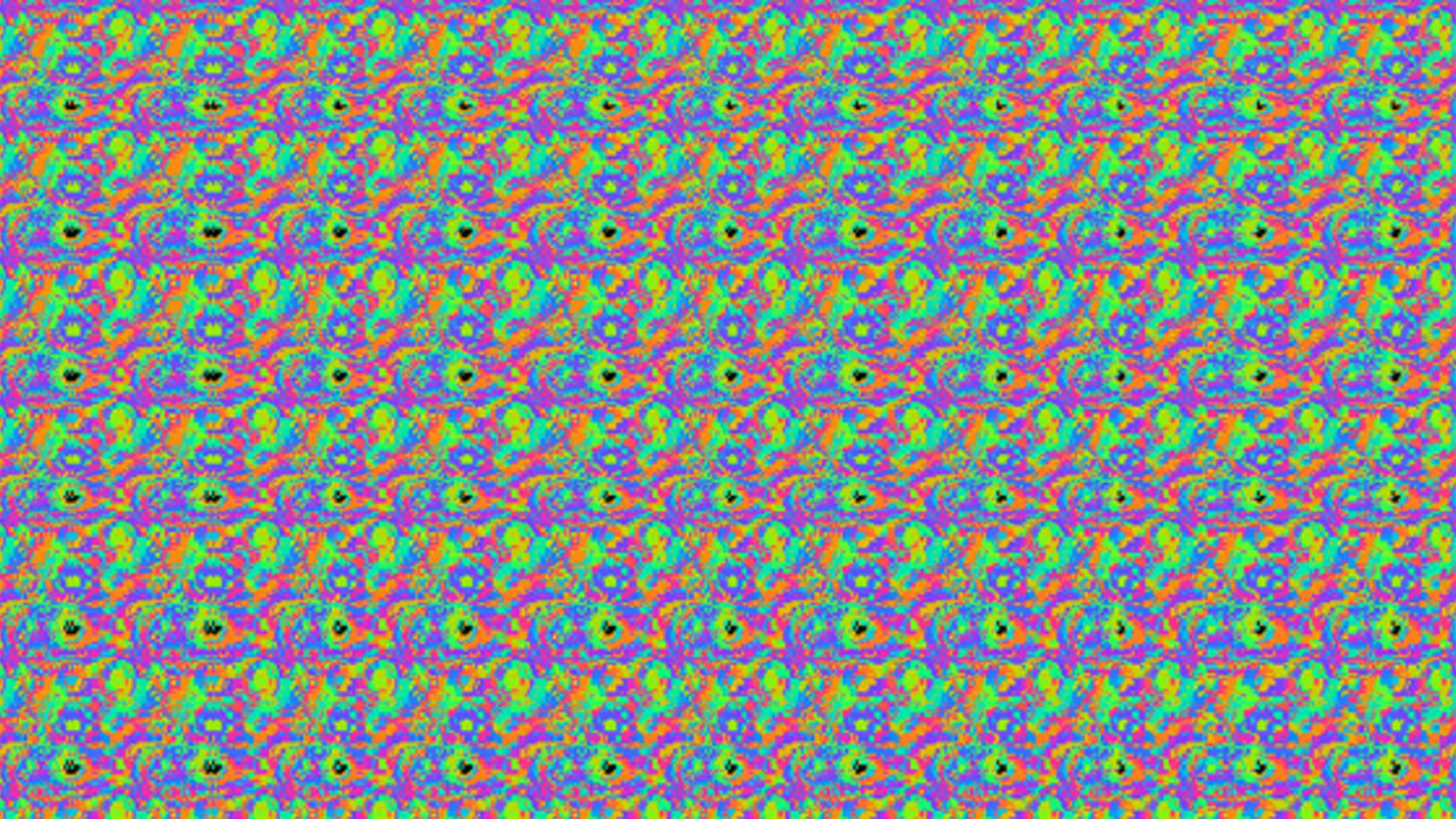 Why Can T Some People See Magic Eye Pictures Mental Floss