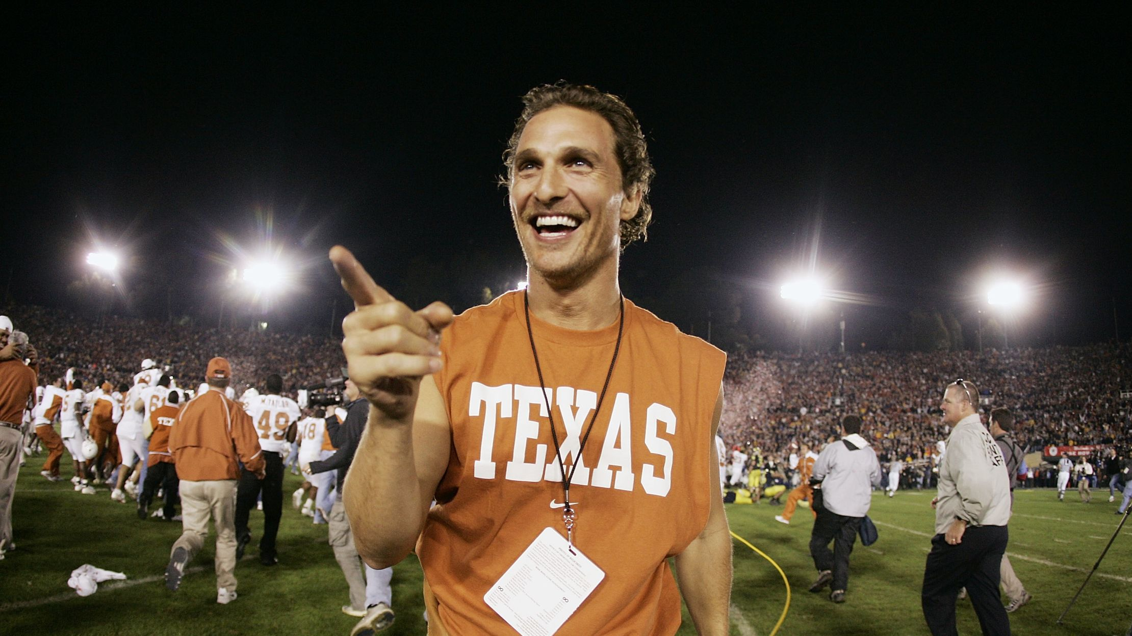 Matthew McConaughey Is Now a Professor at the University of Texas at Austin