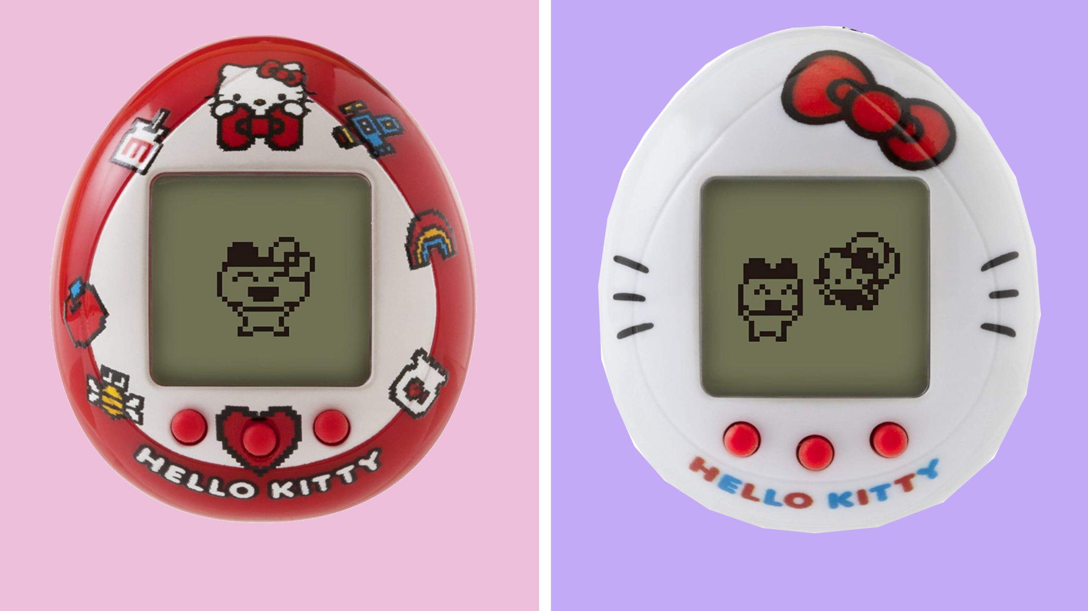 Feel Nostalgic With the New Hello Kitty-Themed Tamagotchi