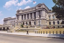 Thomas Jefferson Building of the LOC. Image Credit: TheAgency via Wikimedia Commons // CC BY-SA 3.0