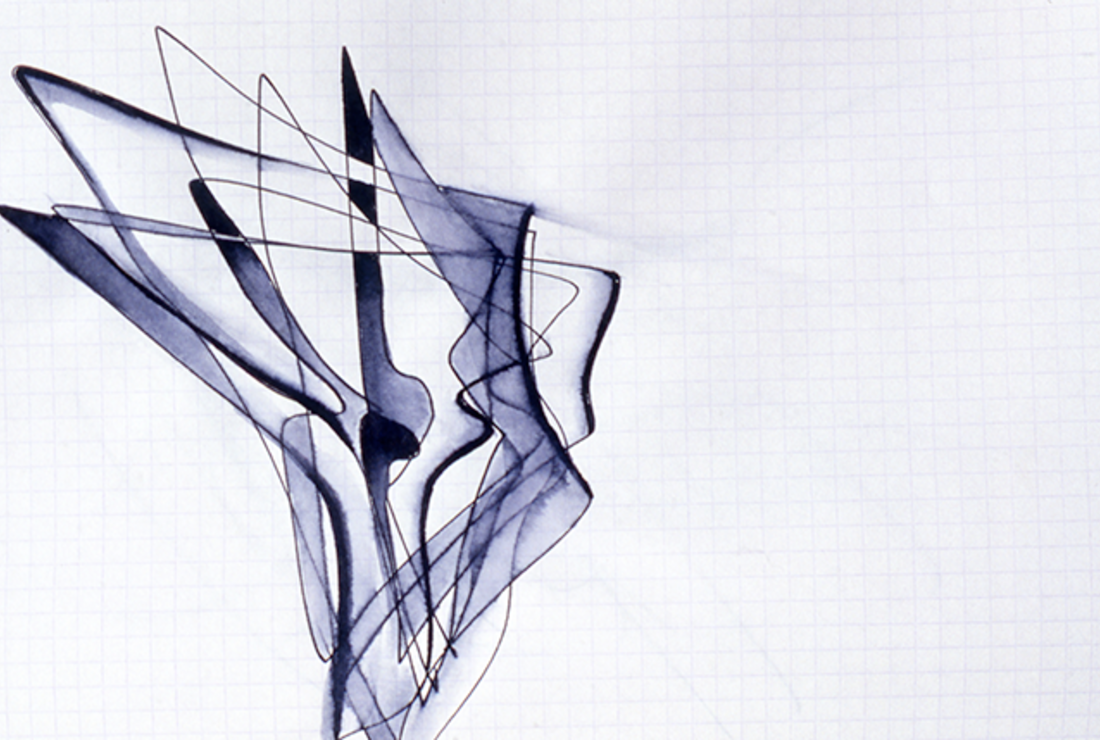 Rarely Seen Sketches By Architect Zaha Hadid Go On Display In London Mental Floss