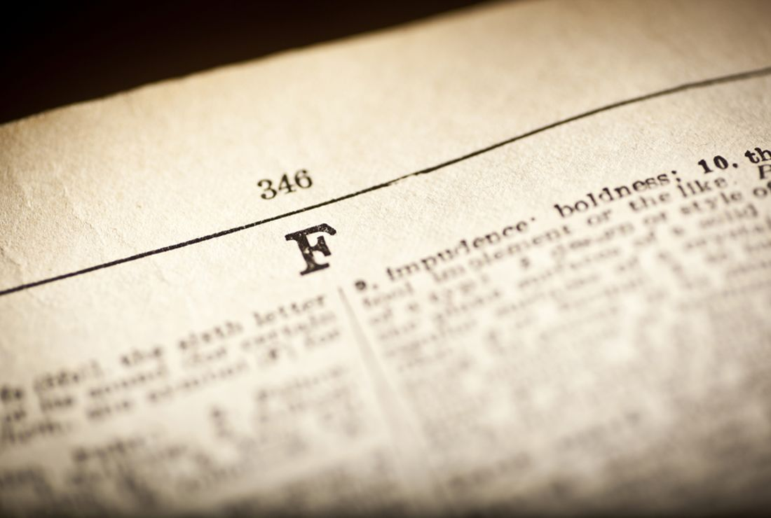 40 Fantastic F-Words To Further Your Vocabulary | Mental Floss
