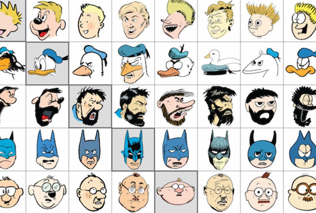 100 Pictures Cartoon Characters artist redraws cartoon characters in other artists' styles