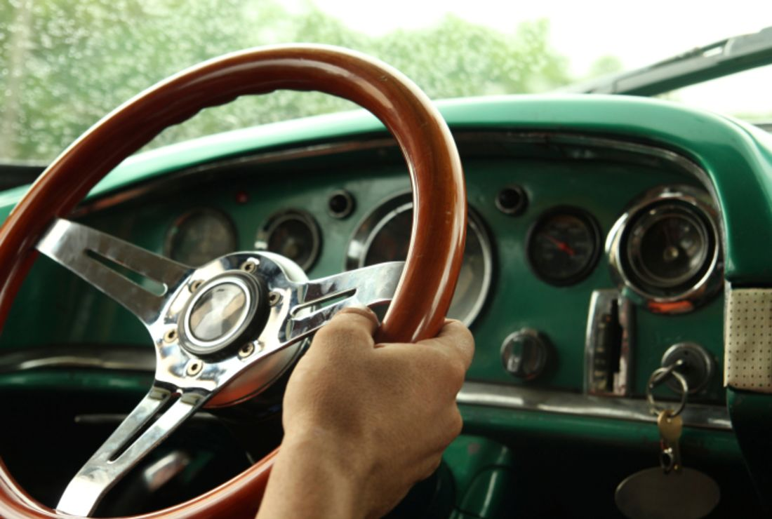 1949 Chevy Steering Wheel