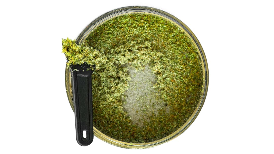 What will you do with that cannabis kief collection?