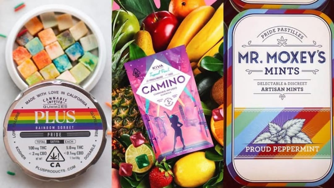 June is pride month and some cannabis brands are joining the celebration.