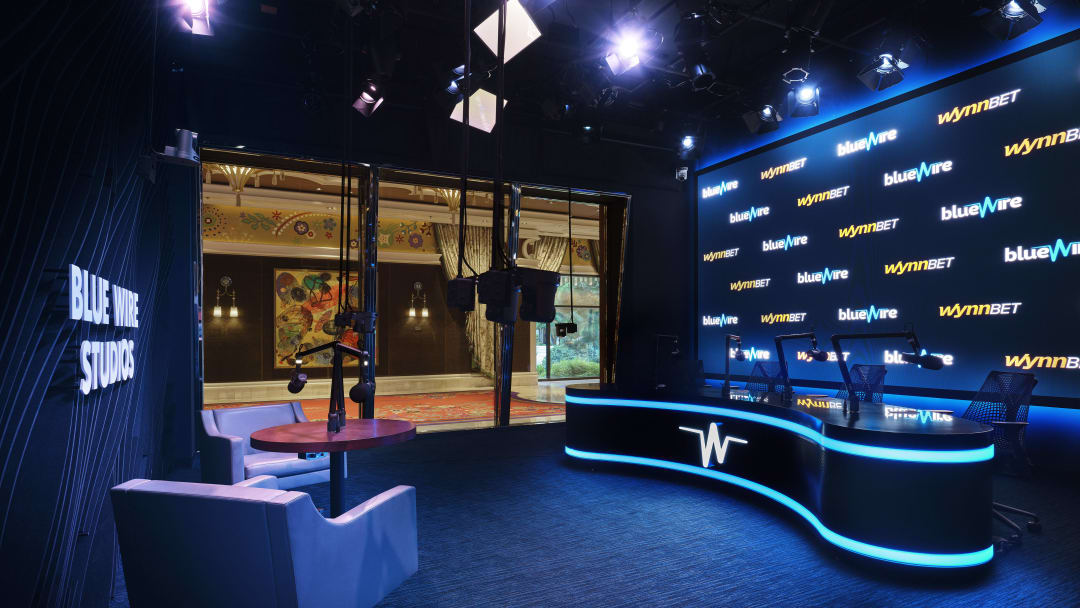 Blue Wire Studios, located inside Wynn Las Vegas, opened earlier this year and is a one-stop-shop for all things production!
