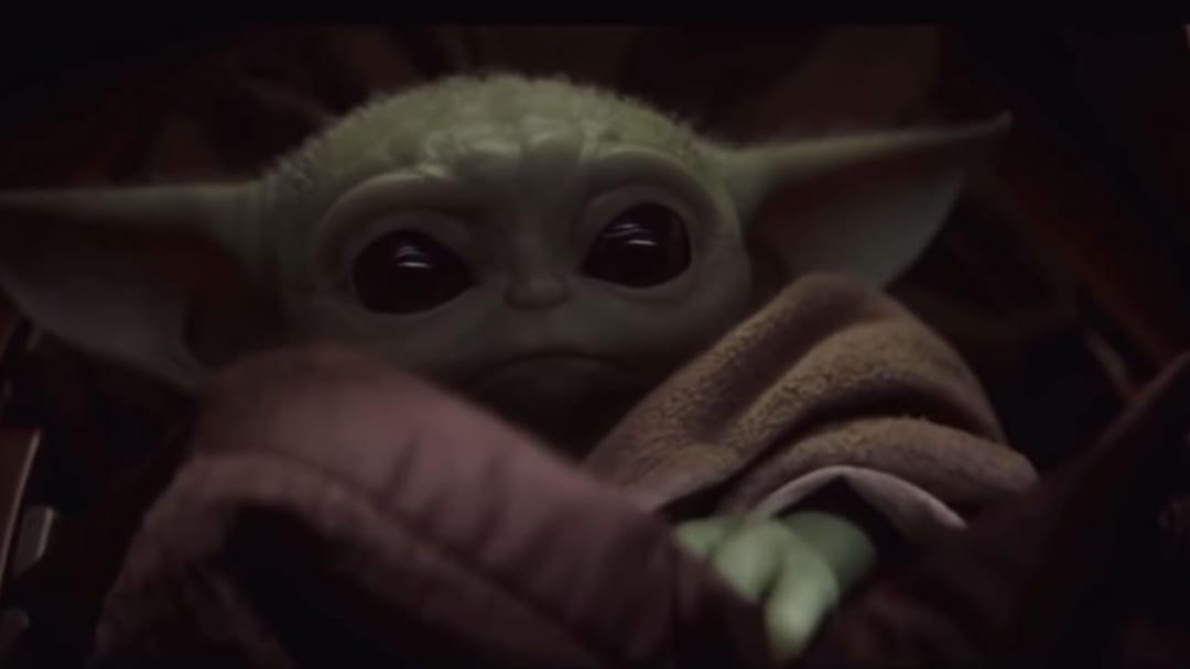 Baby Yoda from 'Star Wars: The Mandalorian'