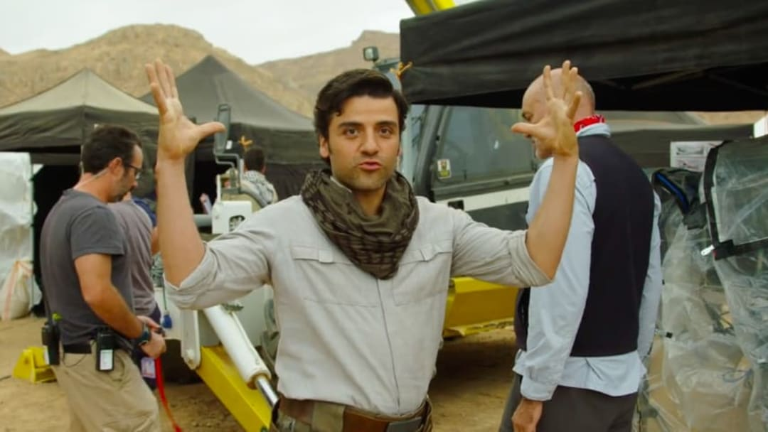 Oscar Isaac dishes on his favorite location to film scenes for 'Star Wars: The Rise of Skywalker'