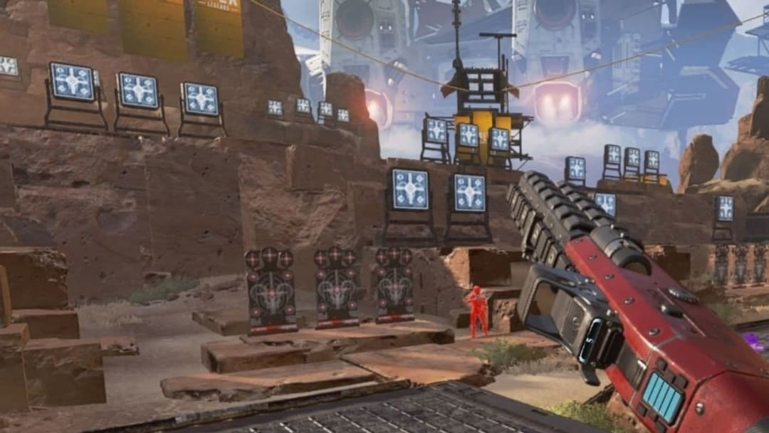 Go to the firing range to activate the teaser.