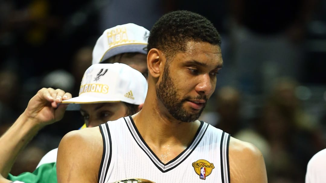 Tim Duncan San Antonio Spurs