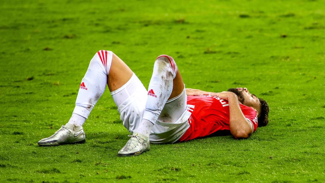 2020 Brasileirao Series A: Internacional v Sport Recife Play Behind Closed Doors Amidst the
