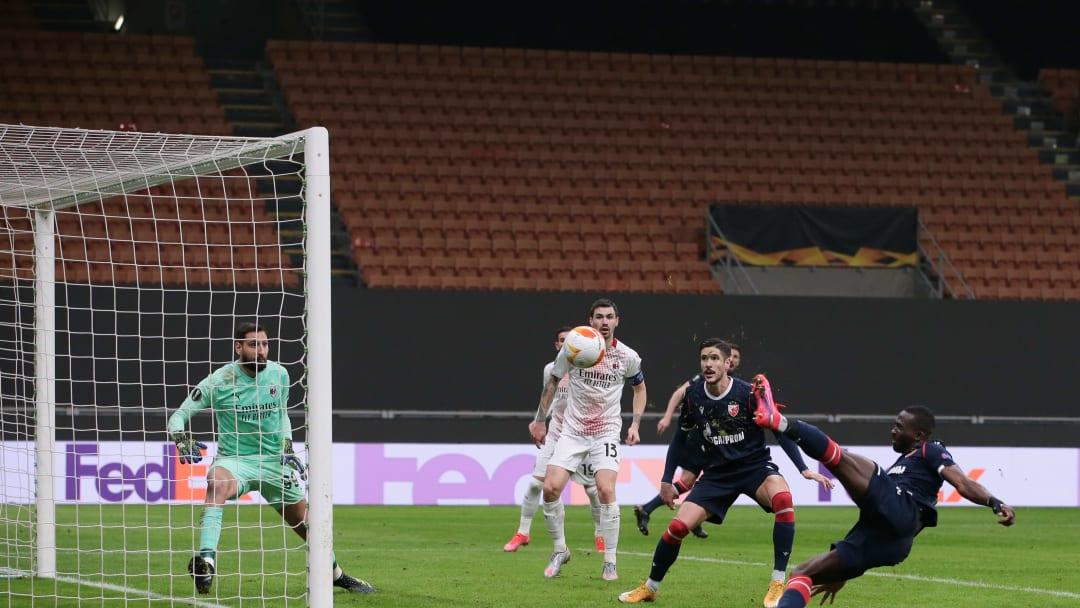 AC Milan v Crvena Zvezda  - UEFA Europa League Round Of 32 Leg Two