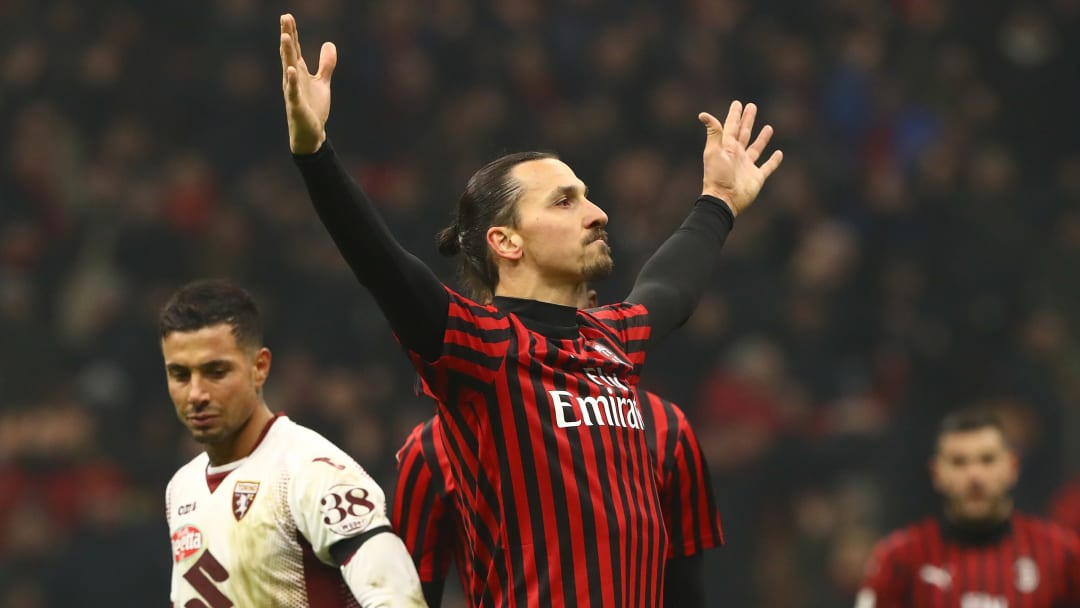 Zlatan Ibrahimovic has scored 10 goals in 18 appearances since re-joining Milan in January