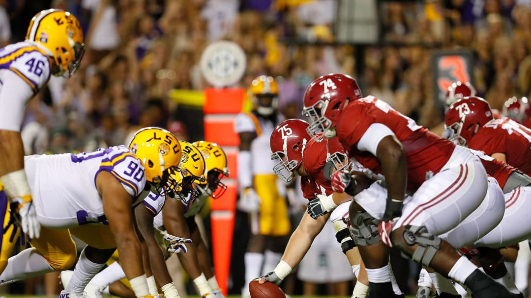 Alabama v LSU