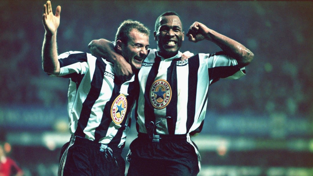 Alan Shearer and Les Ferdinand, the best-dressed strike force in Premier League history