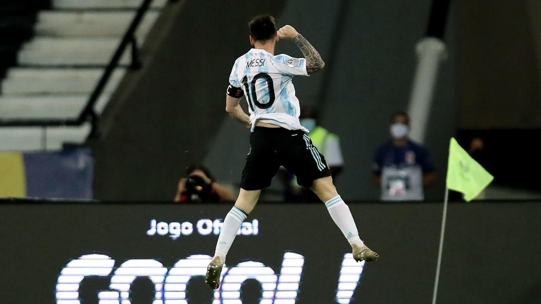 La Pulga se ubicó 1° tras el gol frente a Chile por Copa América.