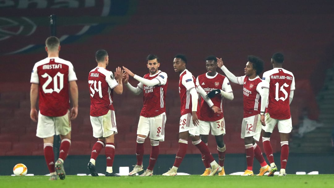Arsenal remain unbeaten in this season's Europa League
