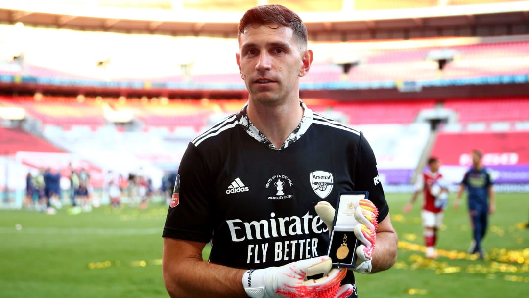 Emiliano Martinez shone for Arsenal after stepping in for the injured Bernd Leno