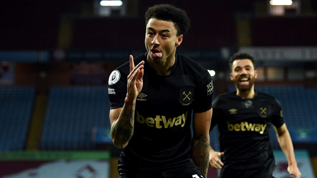 Lingard marked his West Ham debut with two goals
