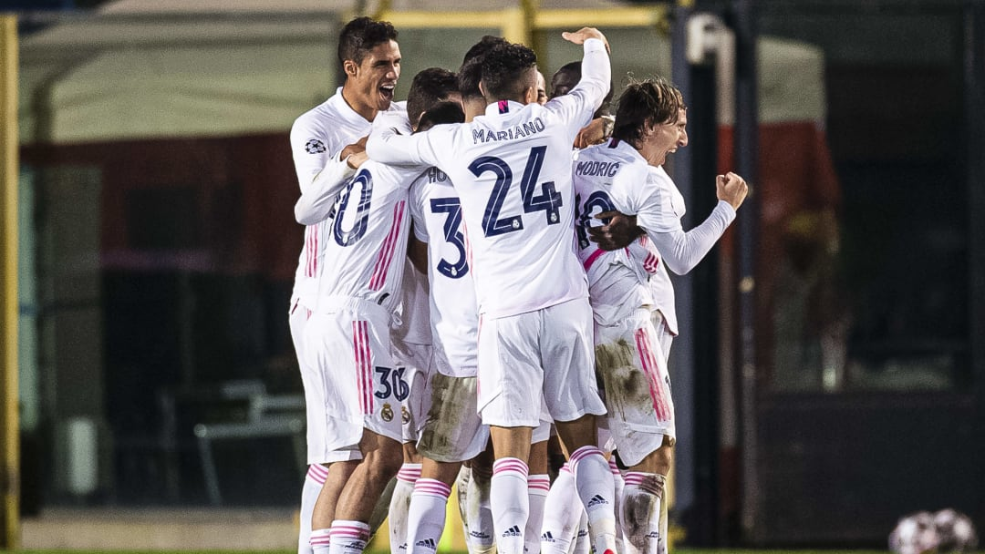 Real secured a late win over Atalanta last time out