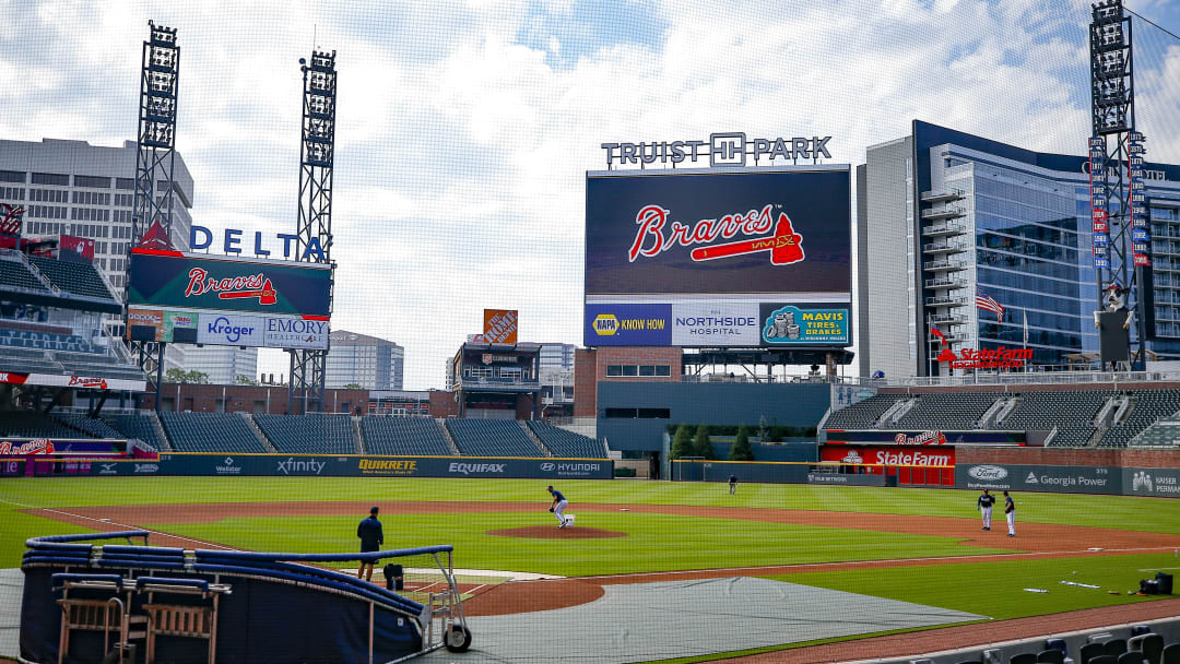 The Atlanta Braves had several players test positive for the coronavirus.