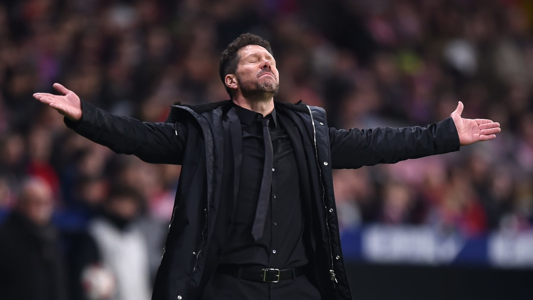 Simeone v Girona - Copa del Rey Round of 16: Second Leg