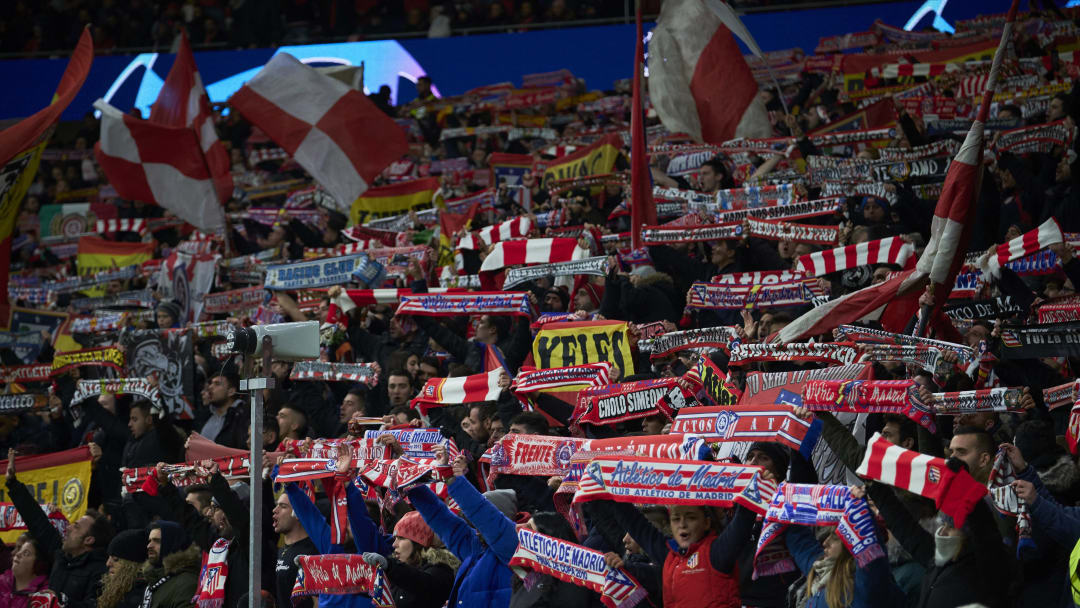 Atletico Madrid v Lokomotiv Moskva: Group D - UEFA Champions League