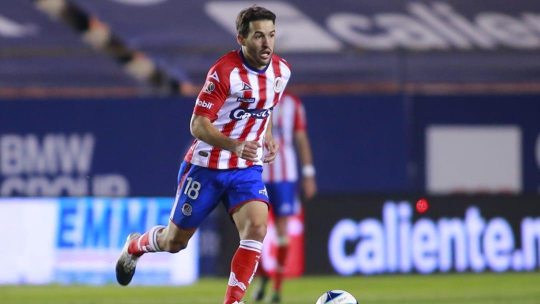 Camilo Mayada en el Atlético San Luis