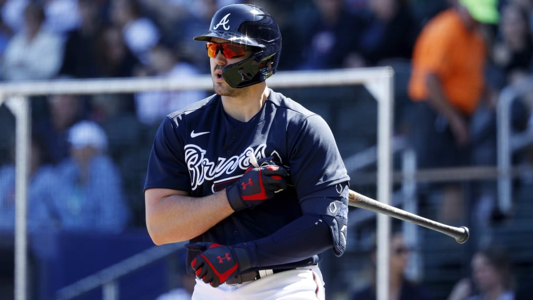 Atlanta Braves players who may no longer be with the team by the end of the 2020 MLB season include Adam Duvall.