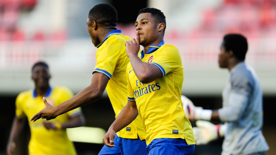 Serge Gnabry never quite broke into Arsenal's first team, but has enjoyed incredible success with Bayern Munich