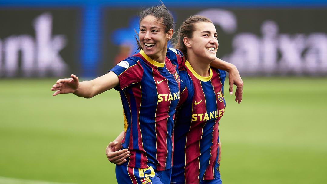 Barcelona faz temporada espetacular com seu time feminino