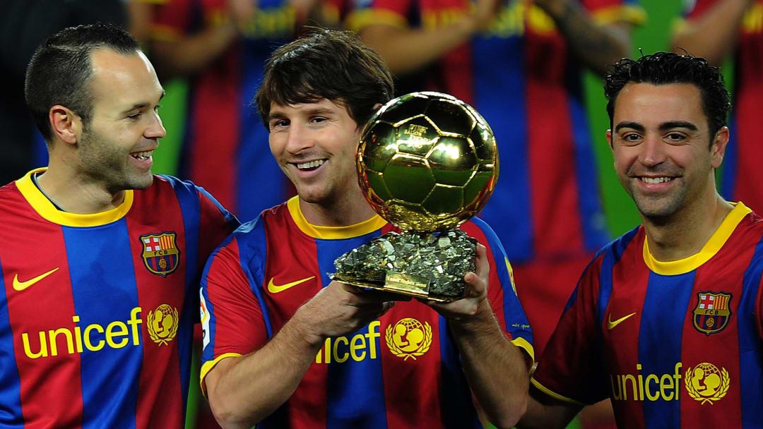 Barcelona's Argentinian forward Lionel M