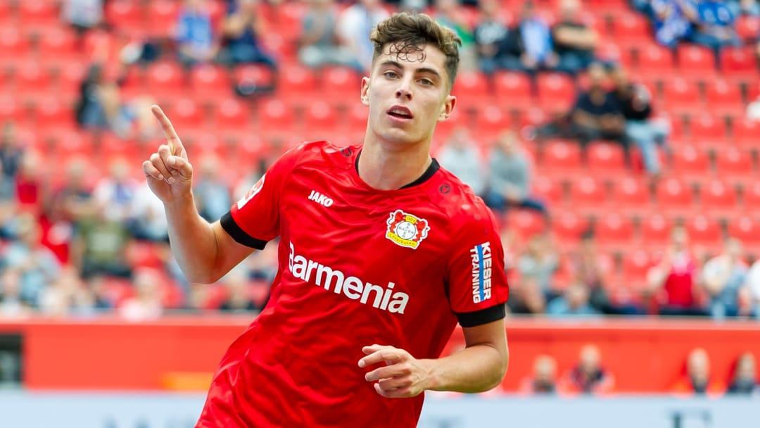 Bayer Leverkusen star Kai Havertz