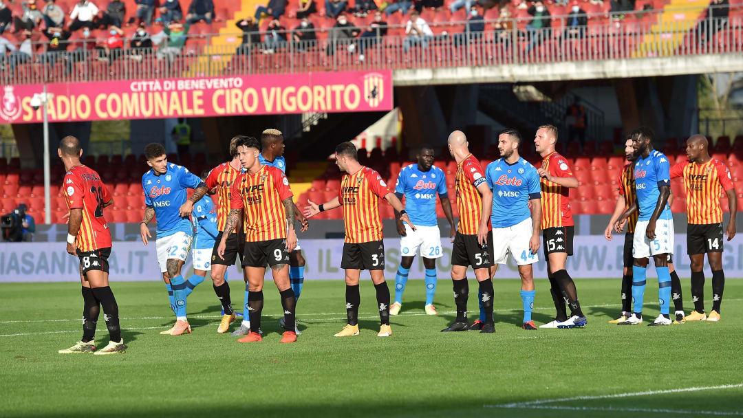 Benevento vs Napoli