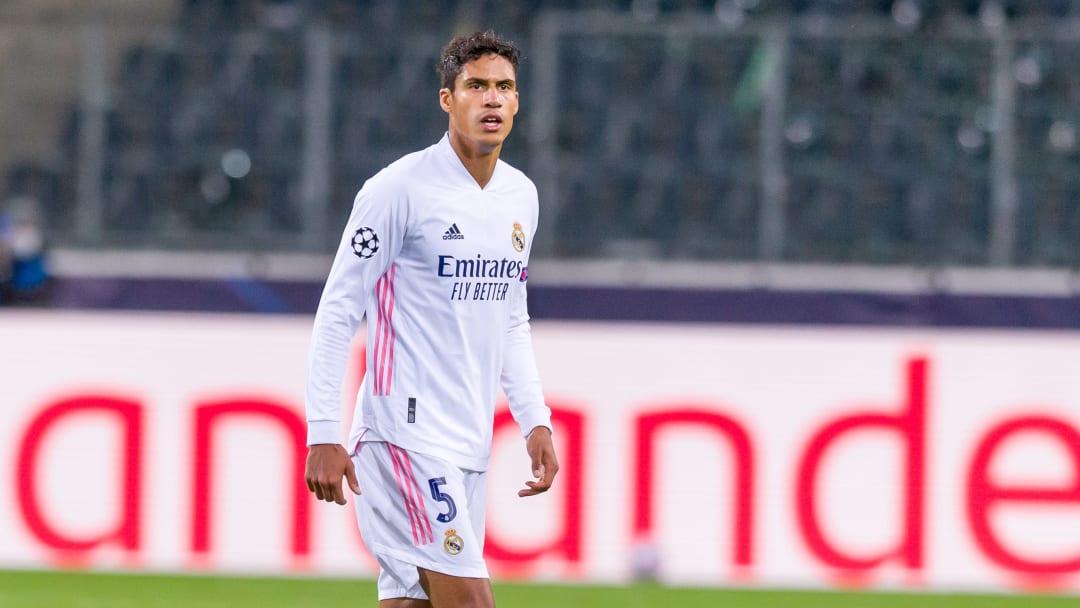 Raphaël Varane est en difficulté avec son club depuis le début de saison